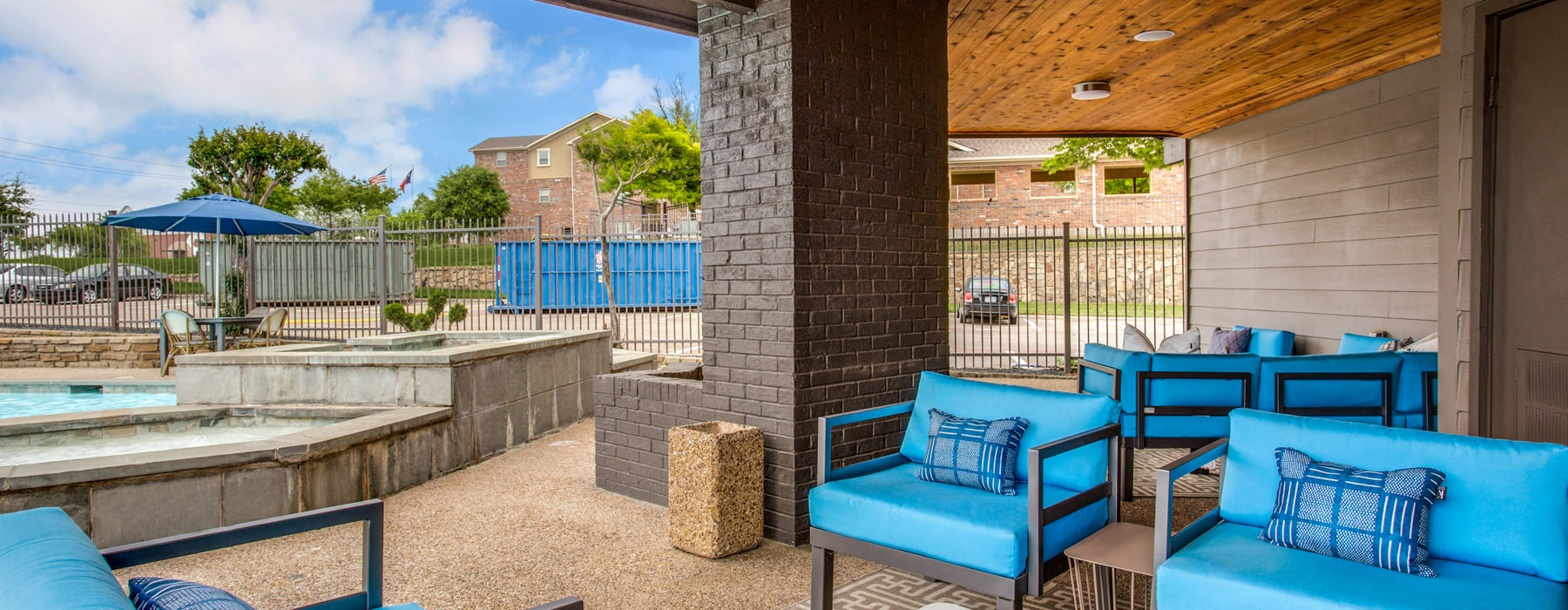 Outdoor Lounge area near the pool